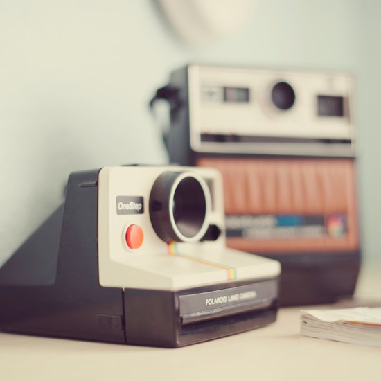 Vintage Cameras. Art Print