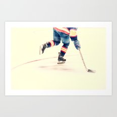 The Sport Of Hockey Art Print