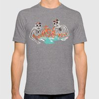 Spectres Mens Fitted Tee Tri-Grey SMALL