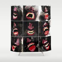 9 gritos Shower Curtain