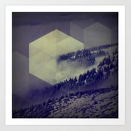 Blue Mountains Art Print