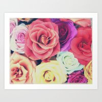RoseLove Art Print