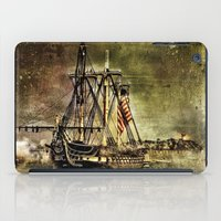 Tall ship USS Constitution iPad Case