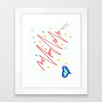 Fine Frenzy  Framed Art Print