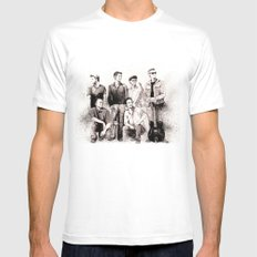 Refreska  Mens Fitted Tee White SMALL