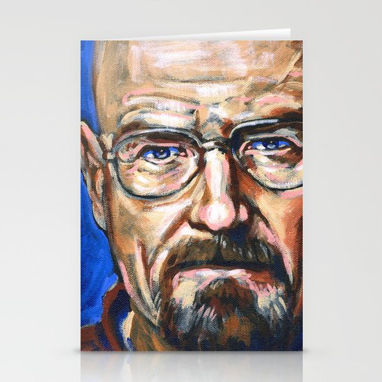 Walter White Breaking Bad Stationery Card