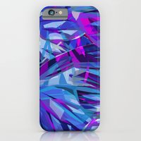 Butterfly Astract Blue iPhone 6 Slim Case