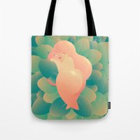 I'm Peachy Tote Bag