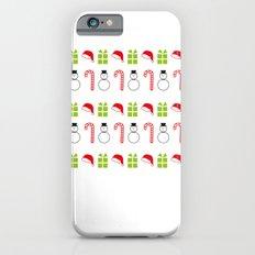 Christmas Icons iPhone 6 Slim Case