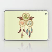 Peace, Love and Music Laptop & iPad Skin