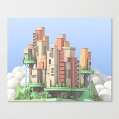 Floating City 02 Canvas Print