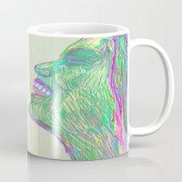 Laughing With Mug
