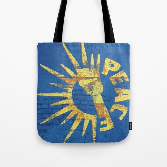 Moar Peace Tote Bag
