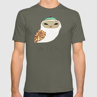 I'm Cute Owl Illustratio… Mens Fitted Tee Lieutenant SMALL