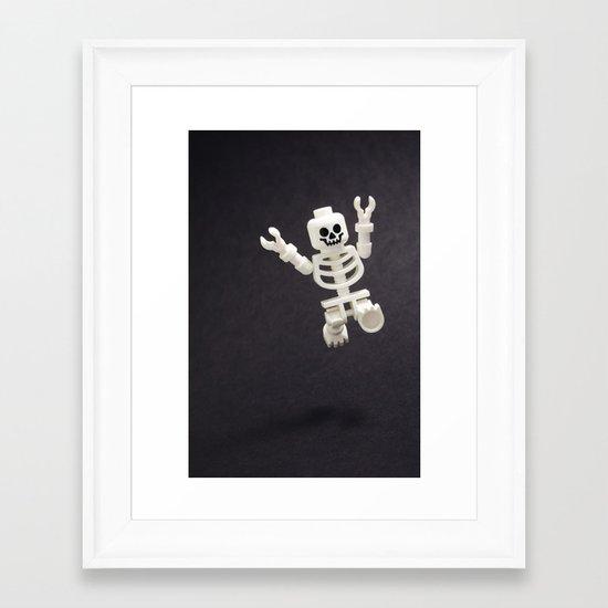 Feels Good To Be Alive! Framed Art Print