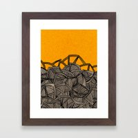 - barricades - Framed Art Print