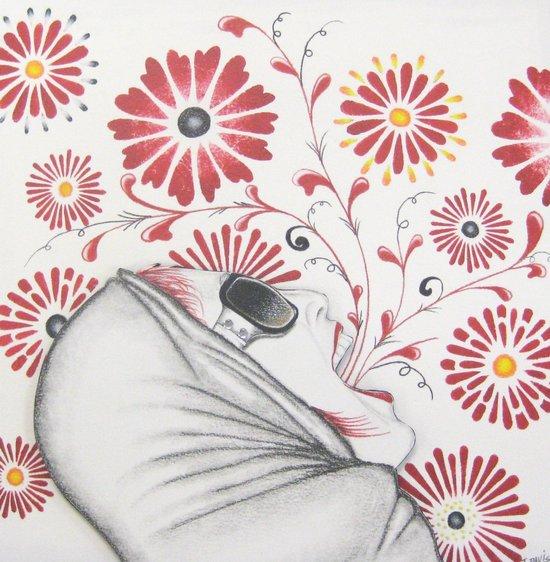 Floral Vision Art Print