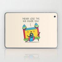 The kid inside you Laptop & iPad Skin