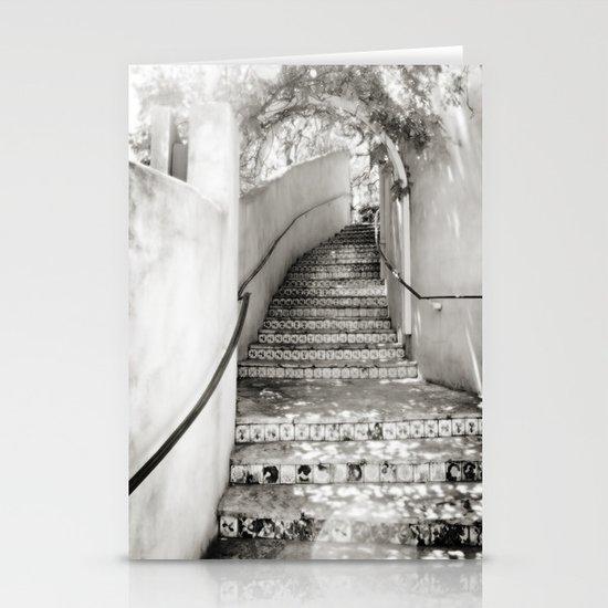 Ceramic Stairway Stationery Card