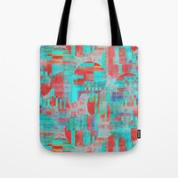 Sizzle Circle Work Tote Bag