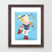 Rainbow Brite Framed Art Print
