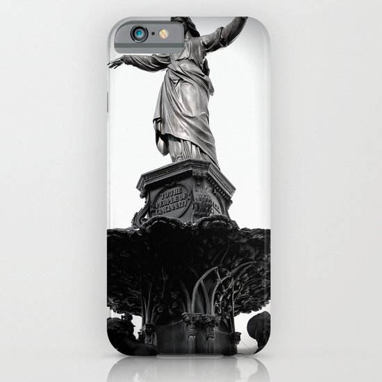 The Lady Of Fountain Square iPhone & iPod Case