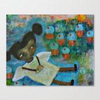 Cupcake Dream Canvas Print