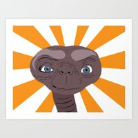 phone home Art Print