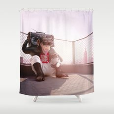 Monkey Beat Shower Curtain