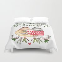 Melt My Heart Duvet Cover
