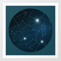 Hemisphere 1 Art Print