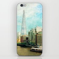 The Shard And The Thames… iPhone & iPod Skin