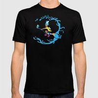 Inkling Delivery Service Mens Fitted Tee Black SMALL