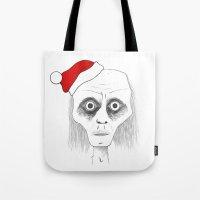 Tired Santa Tote Bag