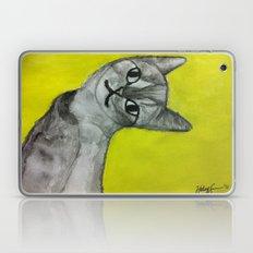 crooked kitty Laptop & iPad Skin
