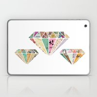 Diamonds are a Girls Best Friend Laptop & iPad Skin