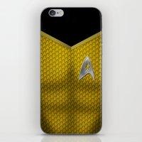 Star Trek Series - Capta… iPhone & iPod Skin