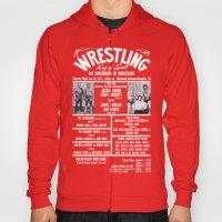 #8-B Memphis Wrestling Window Card Hoody