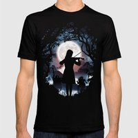 Moondance  Mens Fitted Tee Black SMALL