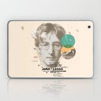 john lenon-imagine Laptop & iPad Skin