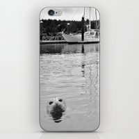 Sea MONSTER iPhone & iPod Skin