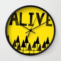 ALIVE Wall Clock