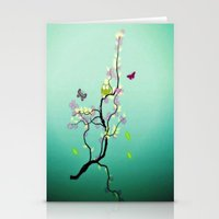 Chaotic Tree ( series ) Stationery Cards