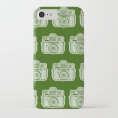 I Still Shoot Film Holga Logo - Reversed Green iPhone 7 Slim Case