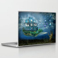 Laptop & iPad Skin featuring A journey with the wind by teddynash