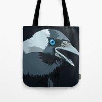 Corvus Monedula Has A St… Tote Bag