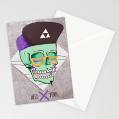 Hell Yeah Skull 3 Stationery Cards