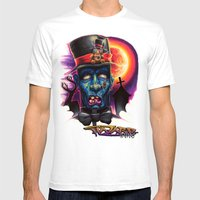 Zombie Bob Mens Fitted Tee White SMALL