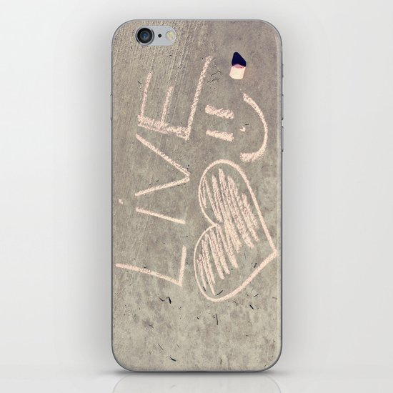 Live Love and Smile Often iPhone & iPod Skin