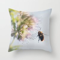 beelanding Throw Pillow